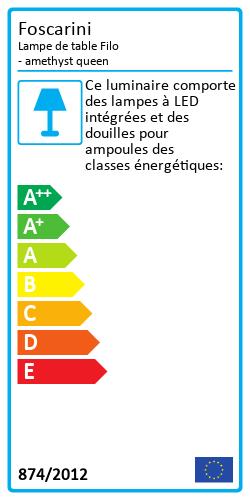 Lampe de table Filo Energy Label